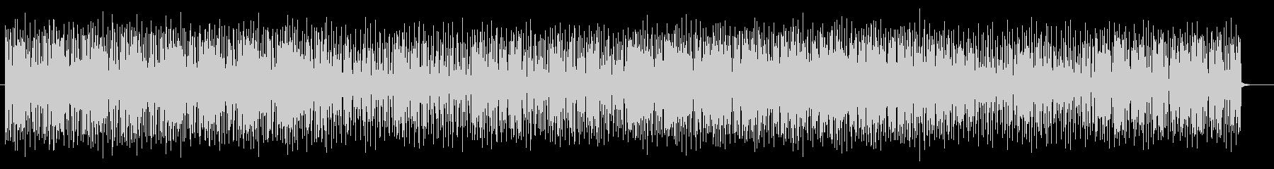 リズミカルなヒップホップ系テクノポップの未再生の波形