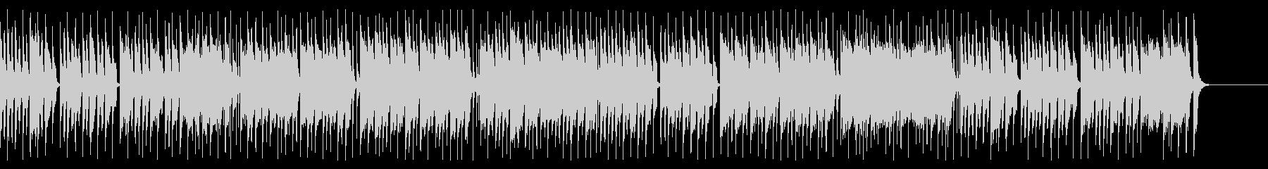 チェンバロとシンセのアップテンポな曲の未再生の波形