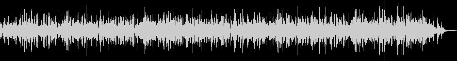ギターデュオによるボサノバ曲の未再生の波形