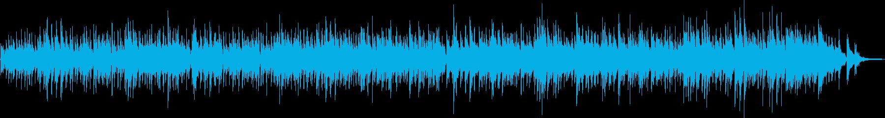 ギターデュオによるボサノバ曲の再生済みの波形