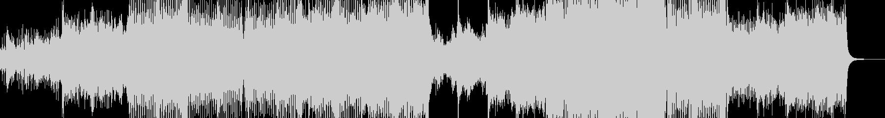 カラフルでメルヘンなテクノポップ Sの未再生の波形