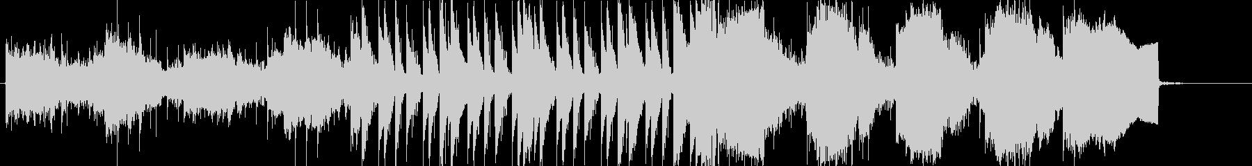 何かが出そうな、怖い和風テイストの音楽の未再生の波形