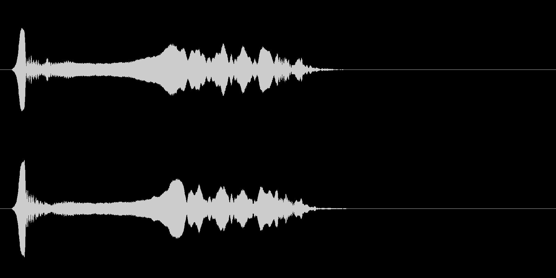 尺八 生演奏 古典風#19の未再生の波形