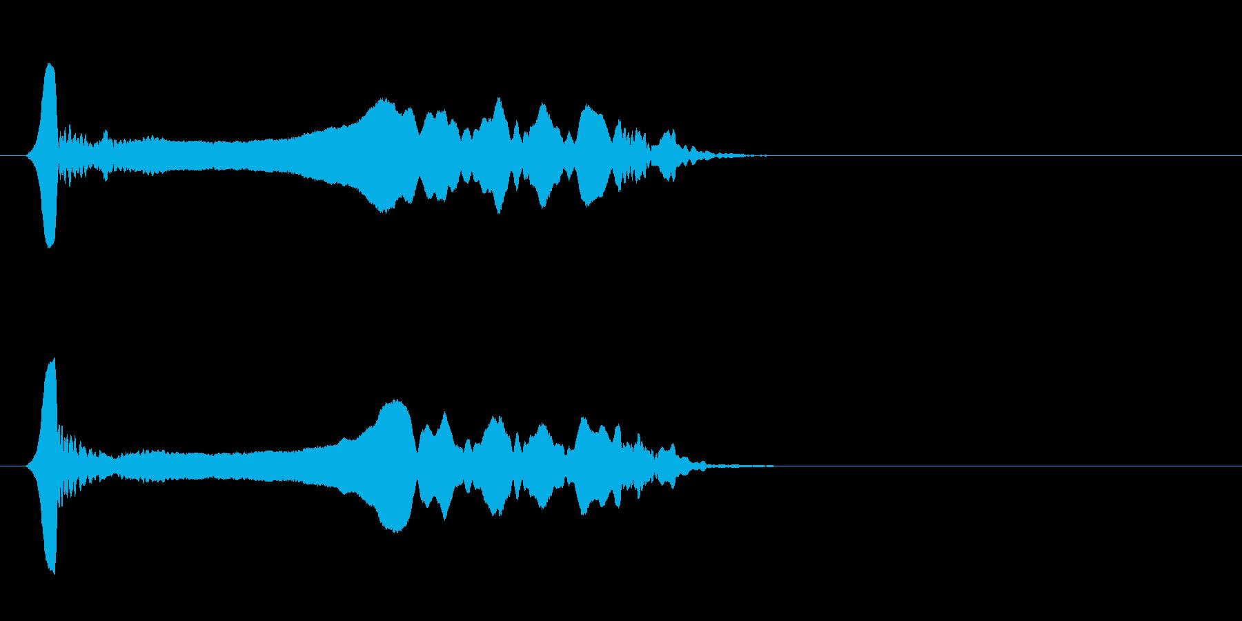 尺八 生演奏 古典風#19の再生済みの波形