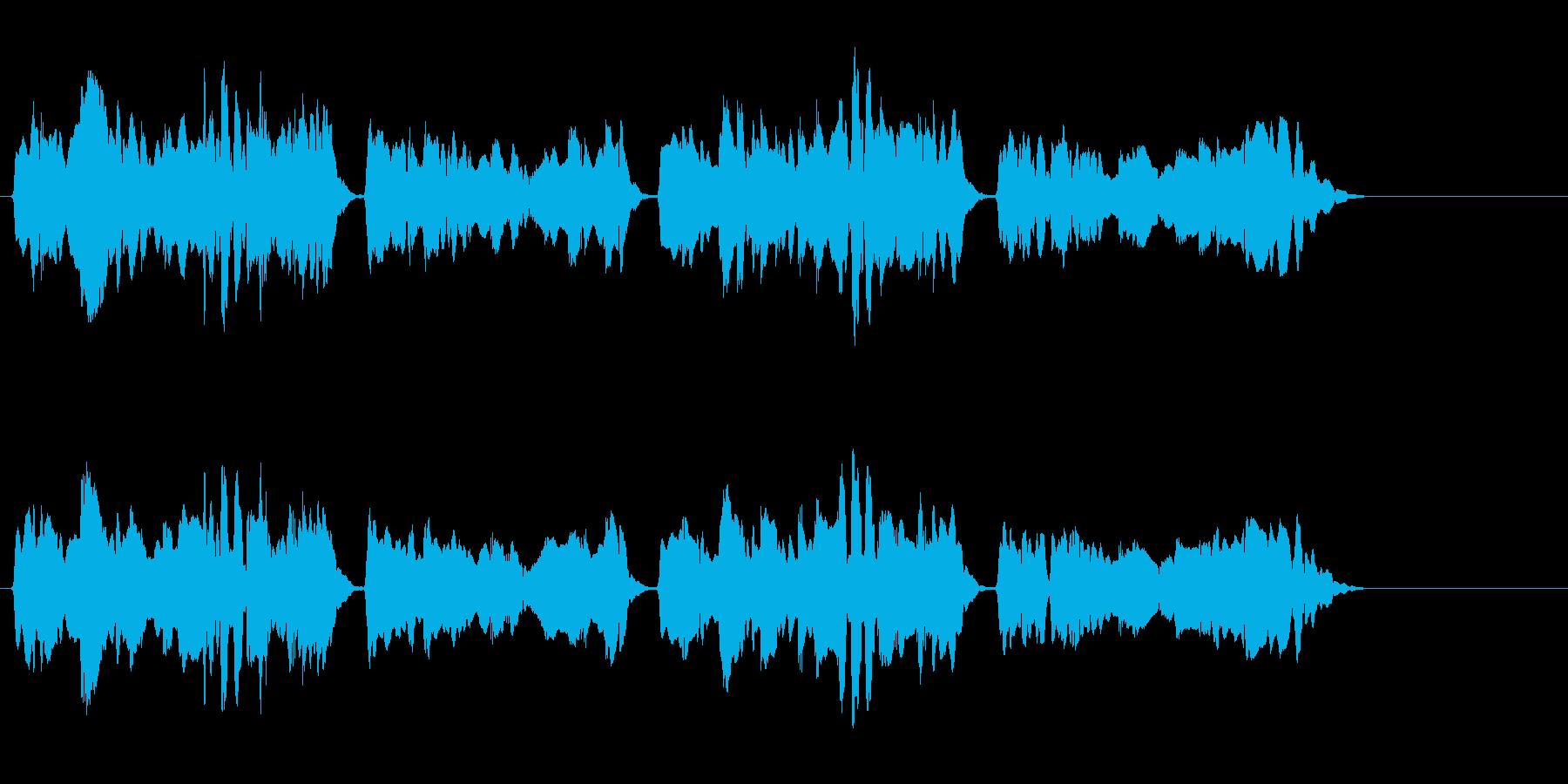 尺八 生演奏 古典風 残響音無 9の再生済みの波形