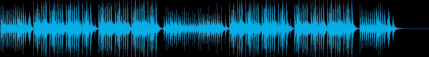 明るくかわいい 笛&トイピアノ&ウクレレの再生済みの波形