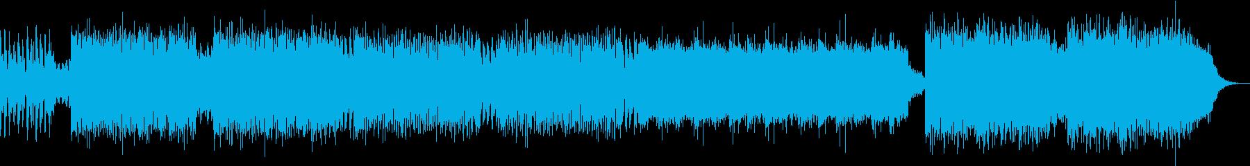 スタイリッシュなトランス EDMの再生済みの波形