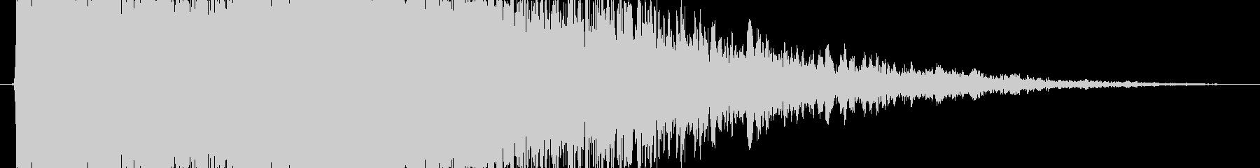 強_チャンスブラス系SE_02の未再生の波形