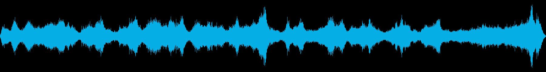 岩場付近の波音【大浜海岸、徳島、秋】の再生済みの波形