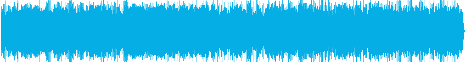 Formal but bright song's reproduced waveform