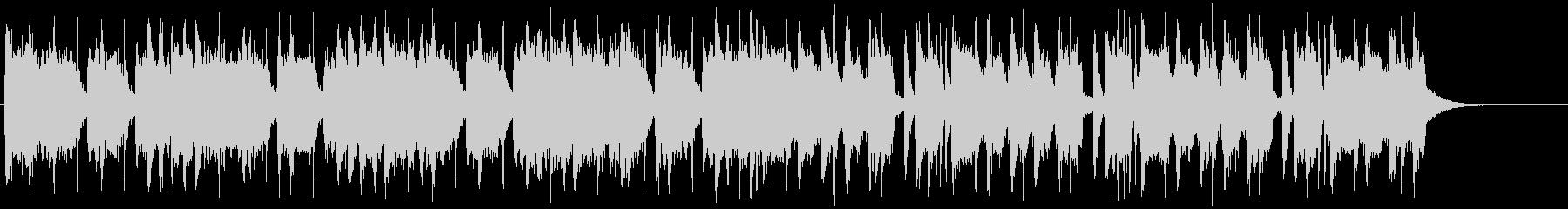 バッドさが全開のヘヴィメタル系ジングル2の未再生の波形