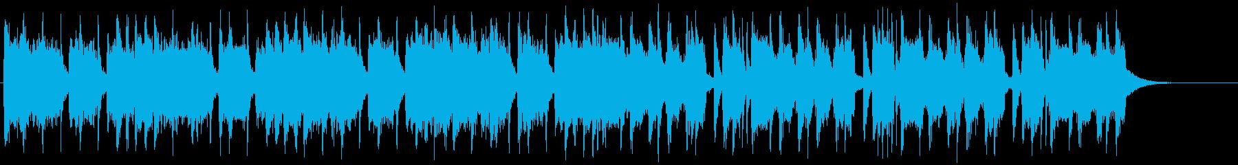 バッドさが全開のヘヴィメタル系ジングル2の再生済みの波形