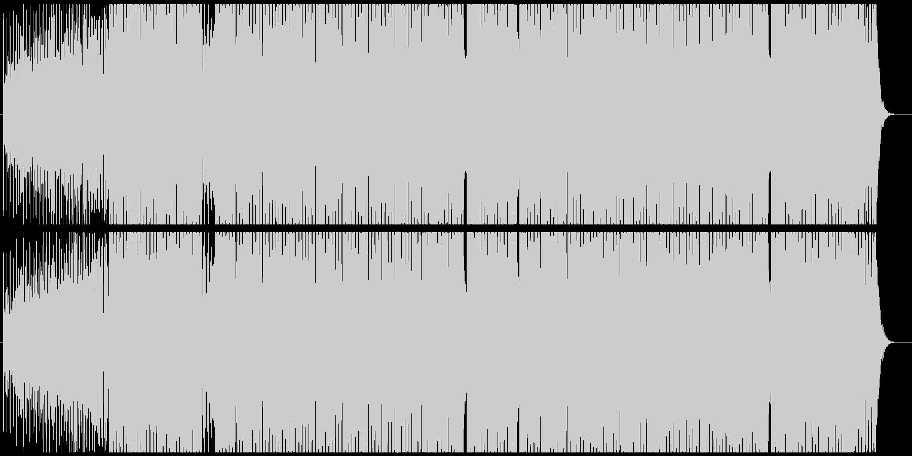 X'masの定番曲をEDMにアレンジの未再生の波形