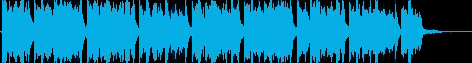 EDM・盛り上げ・シンセティック・電子的の再生済みの波形