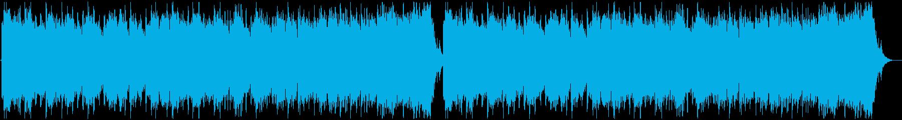 壮大なシネマティックの再生済みの波形
