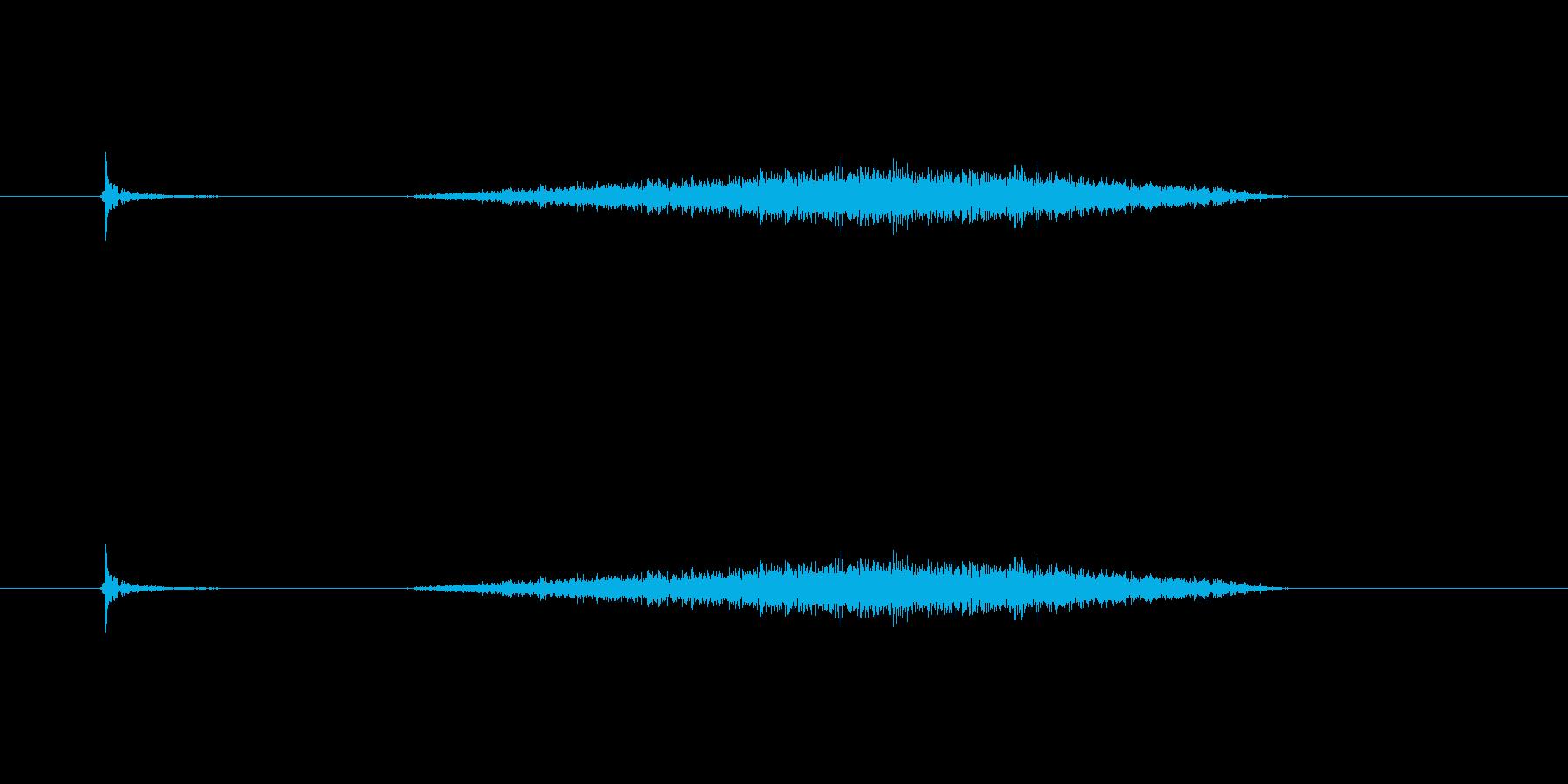 【カッター01-5(切る 紙)】の再生済みの波形