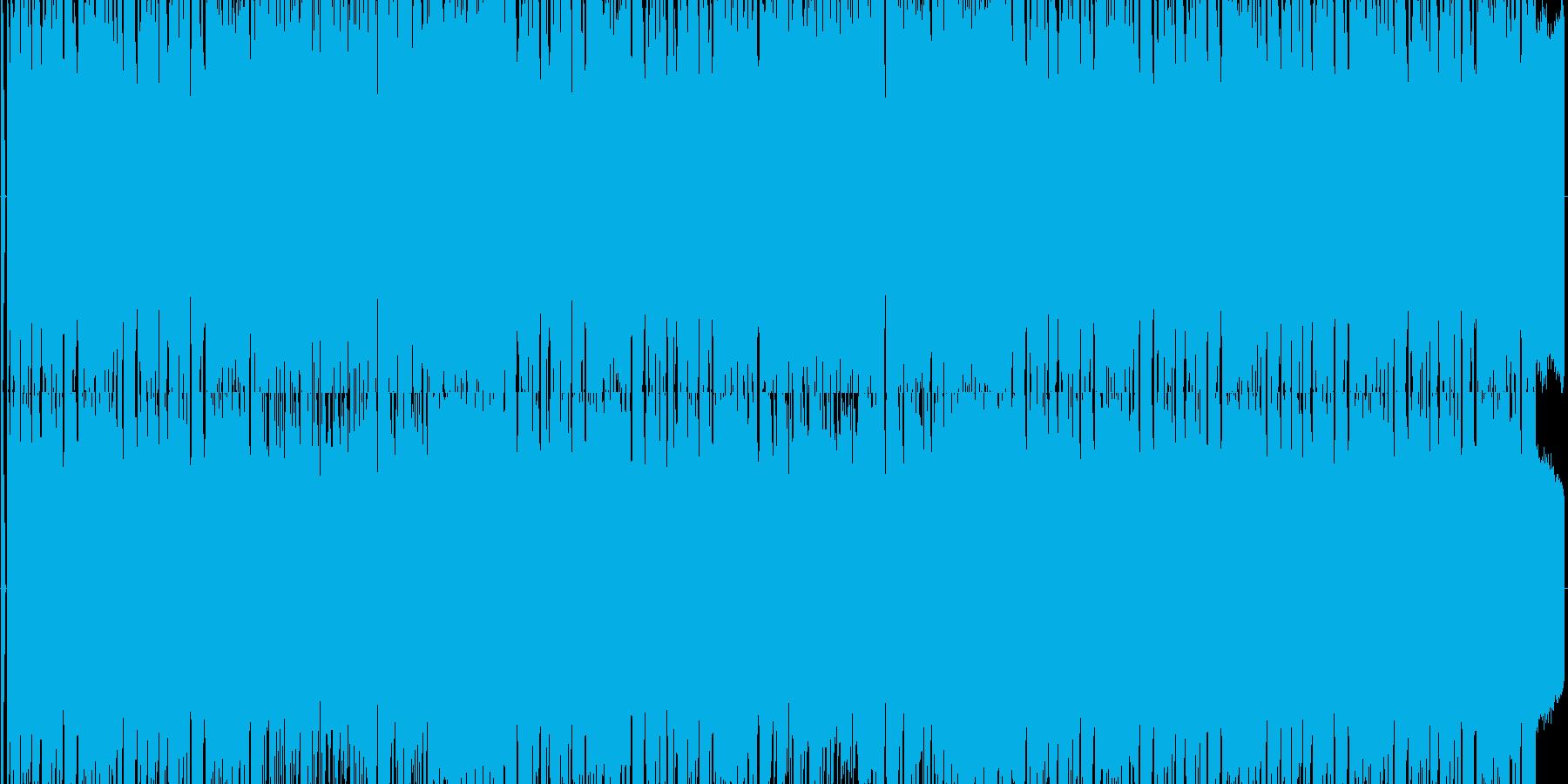 ファミコンロックマン風ワイリーステージの再生済みの波形