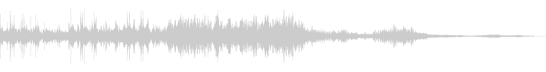 パルス症候群ミュージカルパルサーの未再生の波形