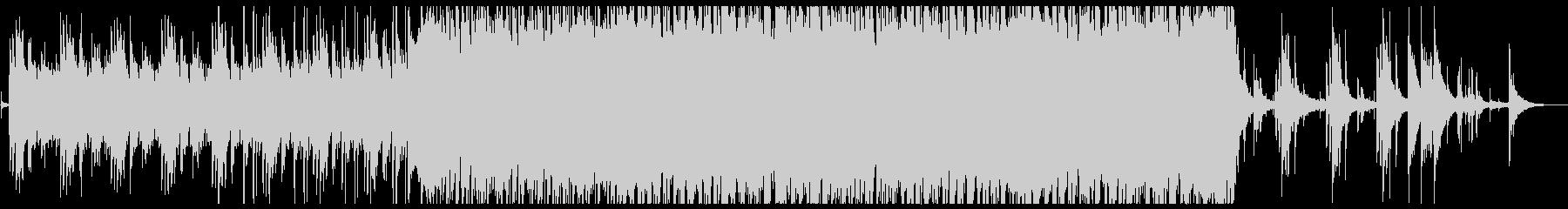 水をイメージしたピアノメインのインストの未再生の波形