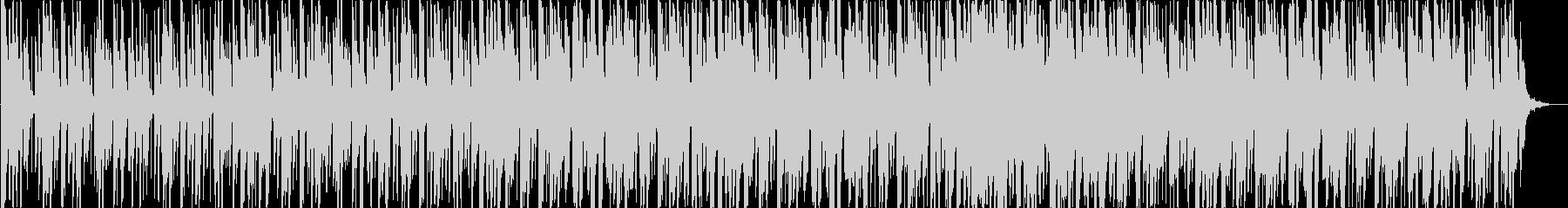 ダンサンブルなラテンポップスの未再生の波形
