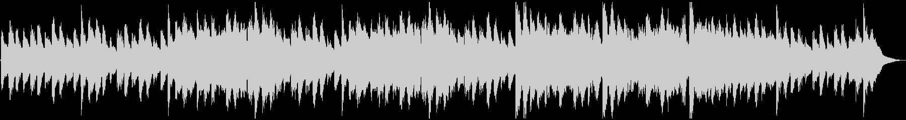 【民族系】笛の平和なループ用BGMの未再生の波形