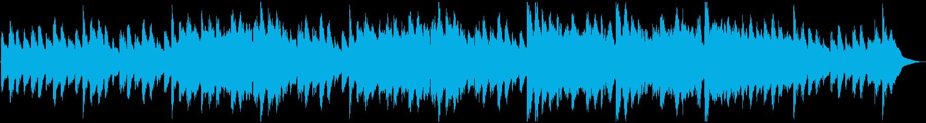 【民族系】笛の平和なループ用BGMの再生済みの波形