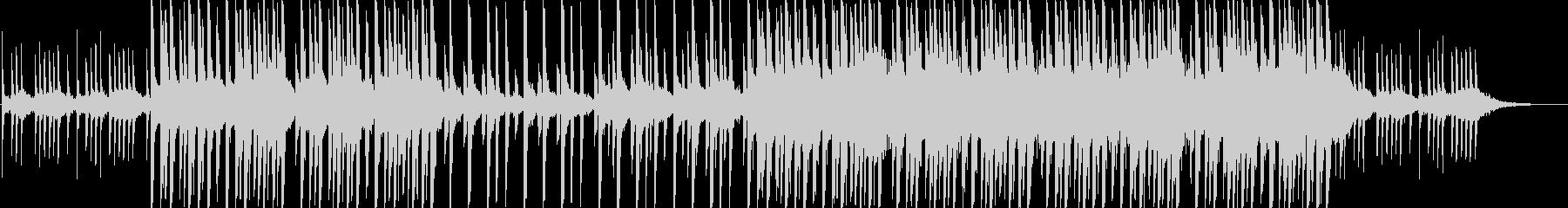 ピコピコ可愛いほのぼのBGMの未再生の波形