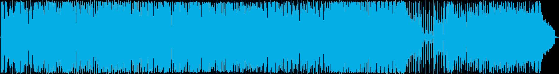 背景をポップします。ピアノバー。柔...の再生済みの波形