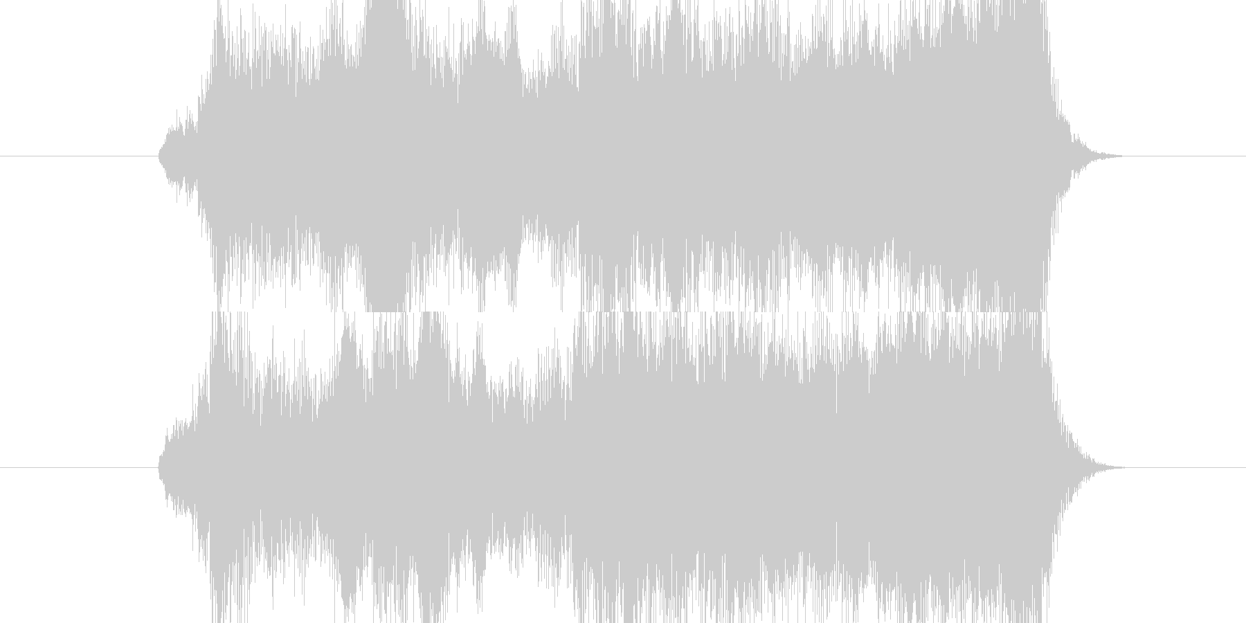 ゲーム向け、アイテムの発見の際のBGM…の未再生の波形