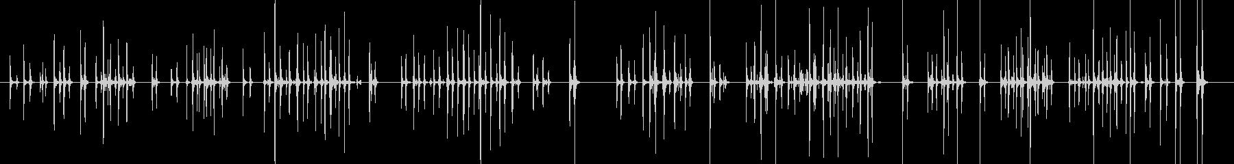 カタカタ_キーボードの打鍵音 04の未再生の波形