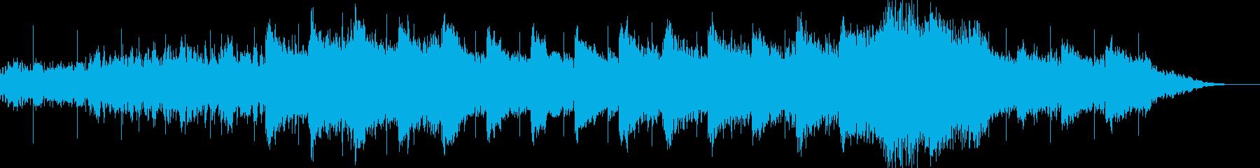 アンビエント環境音楽ヒーリング-13の再生済みの波形