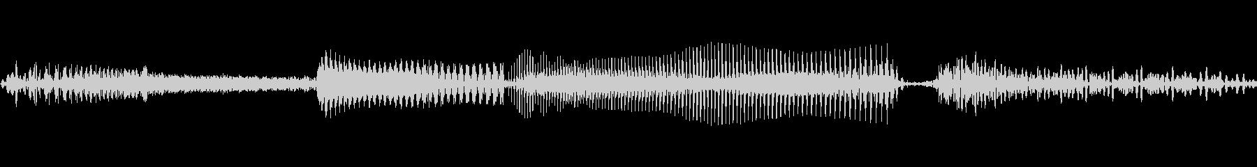 電子誤作動V.1宇宙警報と機能不全の未再生の波形