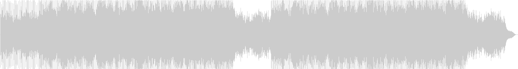 A transparent, refreshing and bright positive piano's unreproduced waveform