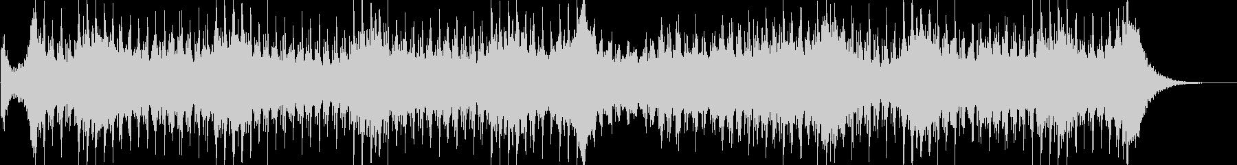 エレクトロでピアノメロの意気込みある曲の未再生の波形