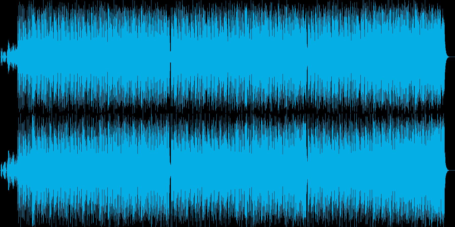 ベースがかっこいいダンスミュージックの再生済みの波形