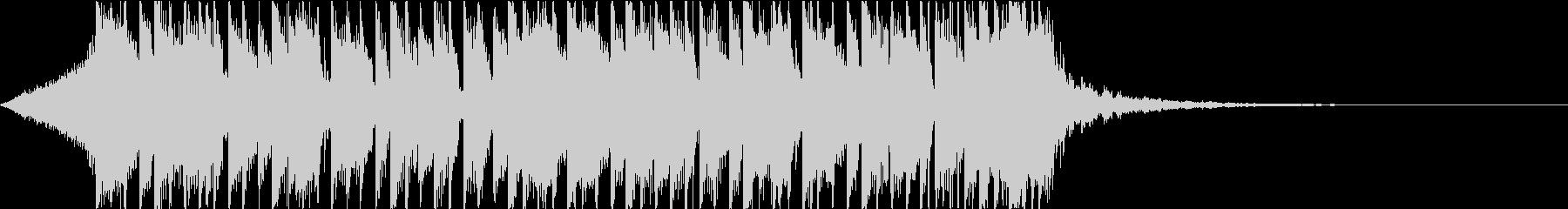 ベース スラップ 重低音 ジングルの未再生の波形
