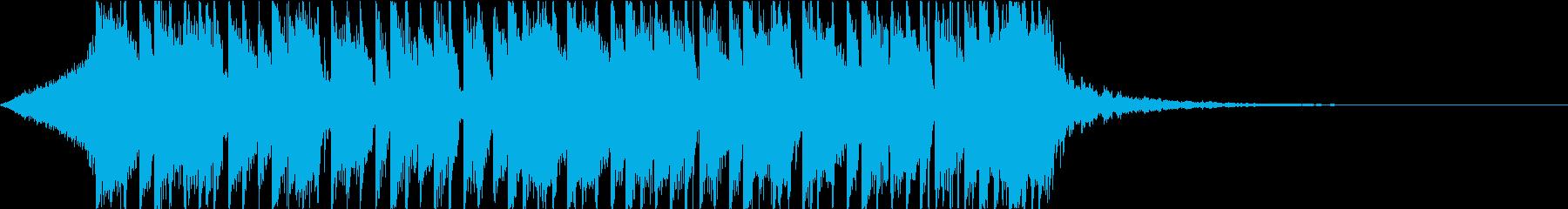 ベース スラップ 重低音 ジングルの再生済みの波形