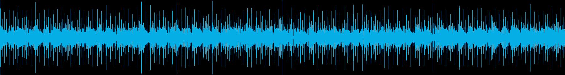 西部ガンマンの宴(ロック)の再生済みの波形