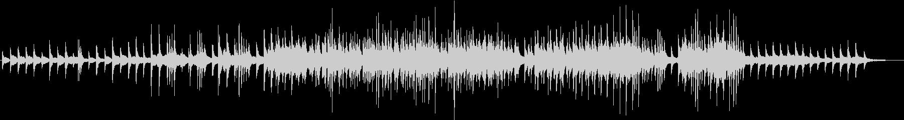 美しく切ないピアノソロワルツの未再生の波形