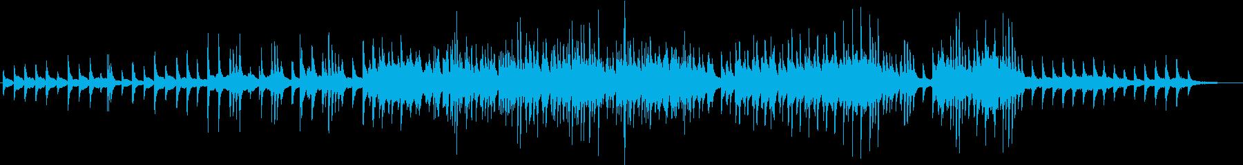 美しく切ないピアノソロワルツの再生済みの波形