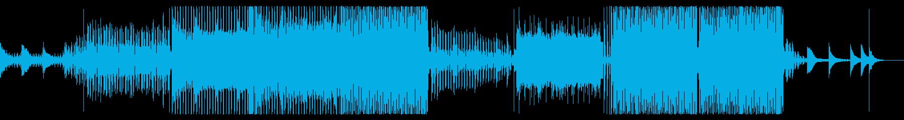 シネマティック/アパレル/ディープハウスの再生済みの波形