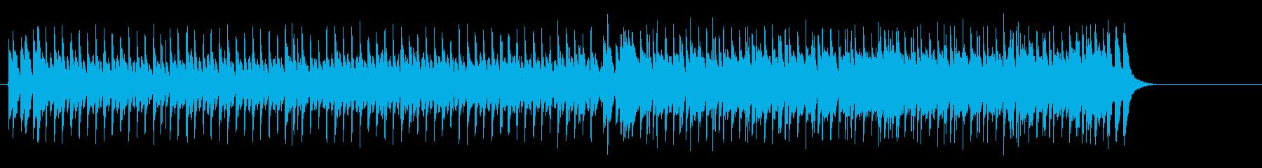 定番BGM風メインストリーム・ポップスの再生済みの波形