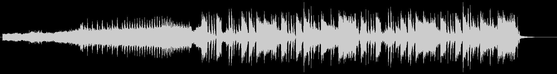 グルーヴに統一感のある変則ビートの未再生の波形