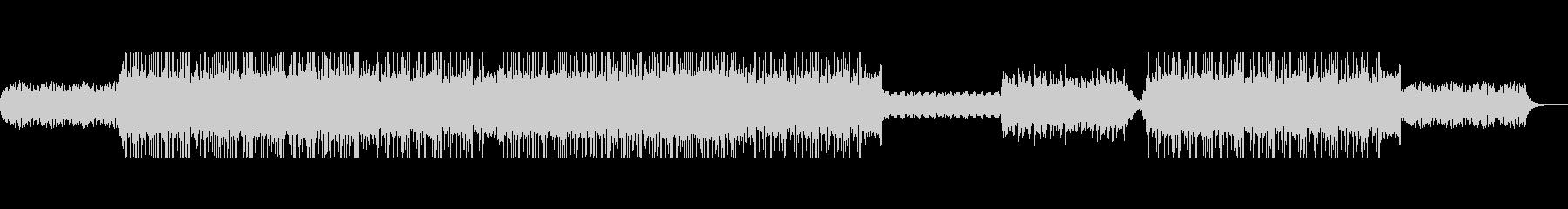 エモいウエディングソングにぴったりBGMの未再生の波形