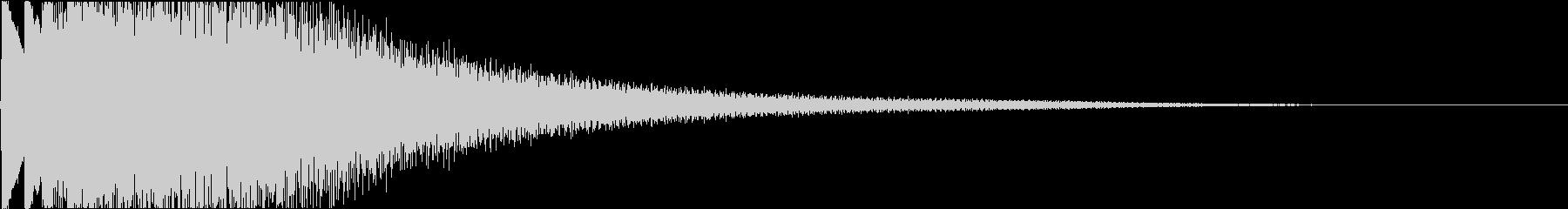 オープニング・琴を弾く・和風・日本の未再生の波形