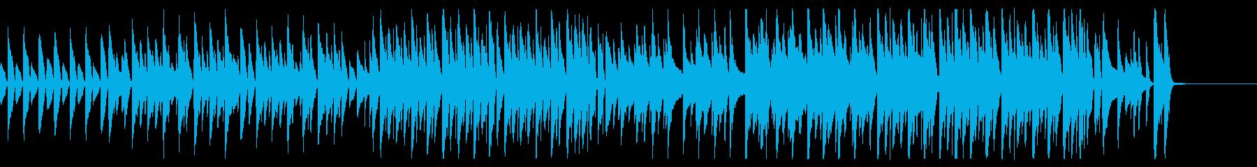 ジャズ/アニメ劇伴、ほのぼのゆるい日常の再生済みの波形