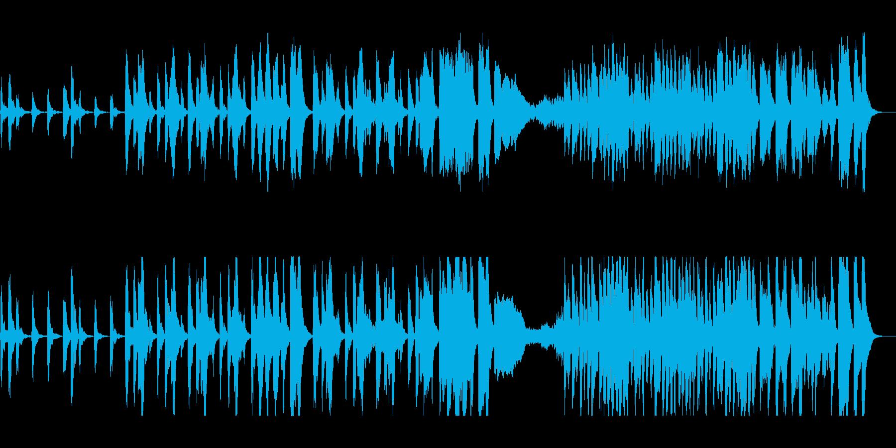 ゆったり不気味なハロウィン風オーケストラの再生済みの波形
