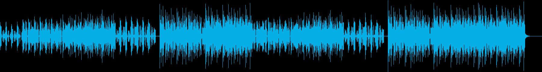 オシャレでアダルトなFUNK ROCKの再生済みの波形