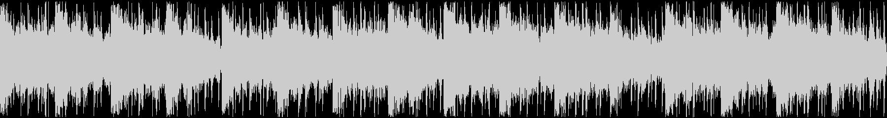 アンビエント感のあるヒップホップ系ループの未再生の波形