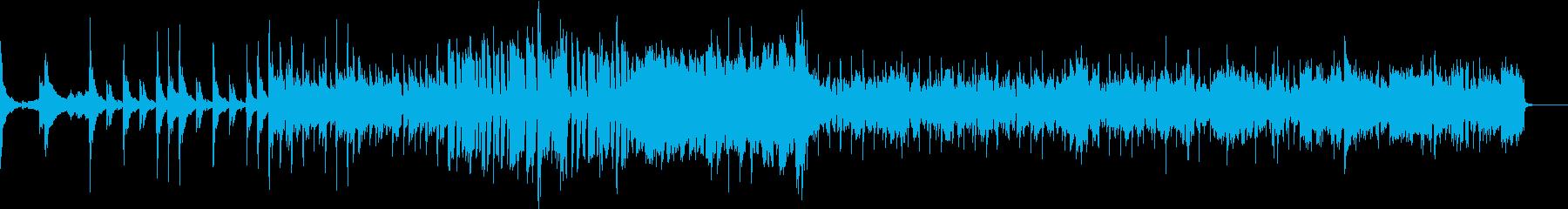 格好良いい電子的なEDMの再生済みの波形